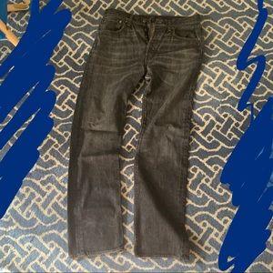 Levi's style 501 size 32 x 32 gray jeans